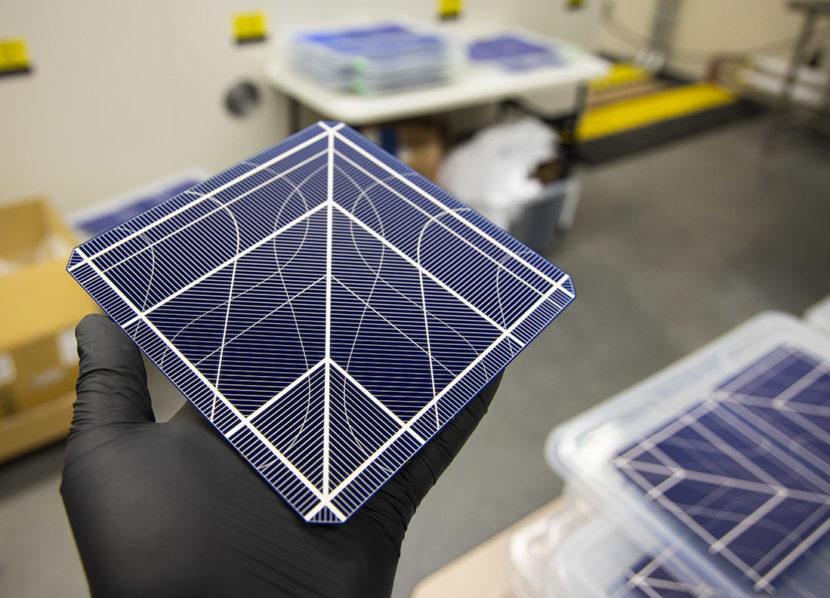 Prototype Solar Cell